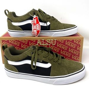 VANS Bearcat Suede Men's Sneakers Olive Green